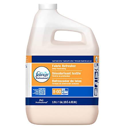 Febreze® Fabric Refresher & Odor Eliminator Refill, Fresh Clean Scent, 1 Gallon, Carton Of 3