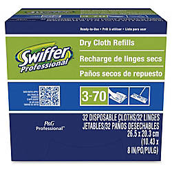 Swiffer Sweeper Dry Cloth Refills White