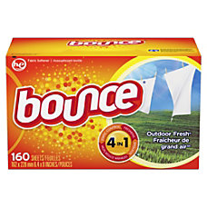 Bounce Dryer Sheets Sheet Outdoor Fresh