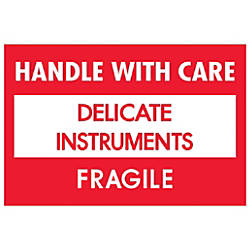 Tape Logic Fragile Labels DL1308 Handle