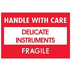 Tape Logic Fragile Labels DL1308 Handle
