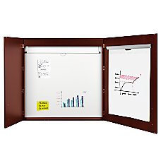 MasterVision Contemporary 2 Door Conference Cabinets