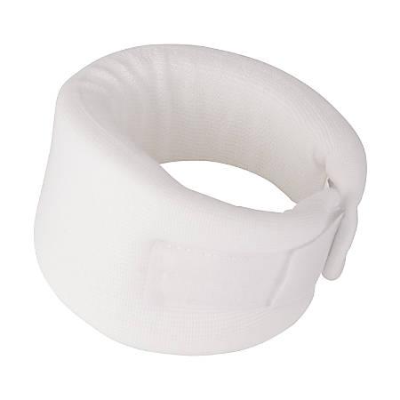 "DMI Soft Foam Cervical Collar, 3"" x 13 1/2"", White"