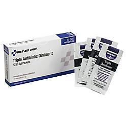 First Aid Only Triple Antibiotic Ointment