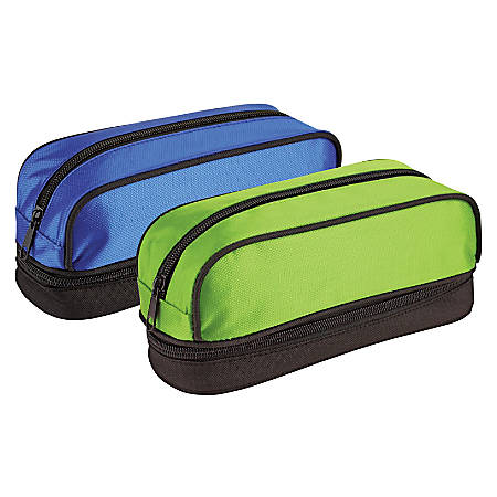 "Office Depot® Brand Mesh Pencil Pouch, 8 5/8""H x 3""W x 3 1/2""D, Assorted Colors"