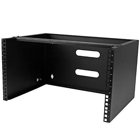 "StarTech.com 6U 12"" Deep Wall Mounting Bracket For Patch Panel"
