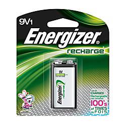 Energizer Rechargeable NiMH 9 Volt Battery