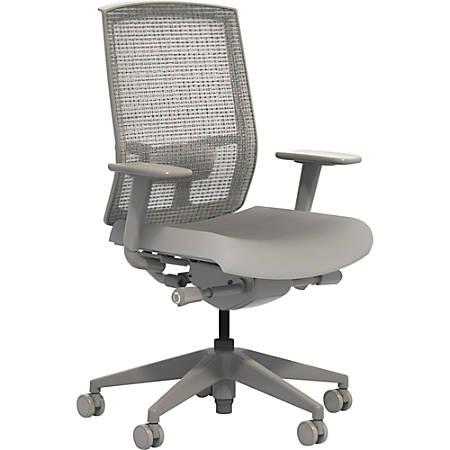 Safco® Gist Mesh Task Chair, Gray