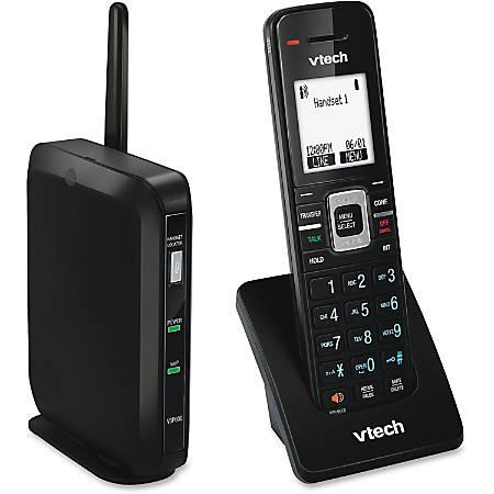 VTech ErisTerminal VSP600 IP Phone - Cordless - DECT 6.0 - Desktop, Wall Mountable