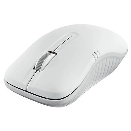 Verbatim Wireless Notebook Optical Mouse, Commuter Series - Matte White