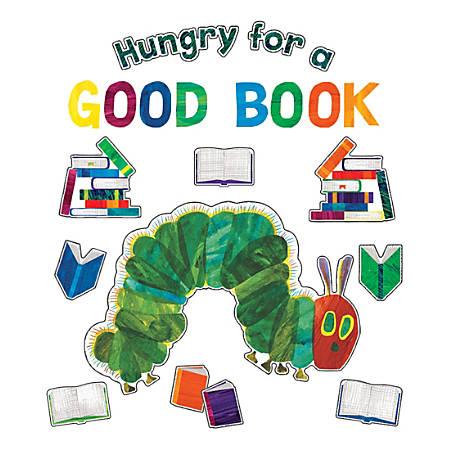 Carson-Dellosa Very Hungry Caterpillar Hungry For A Good Book Bulletin Board Set