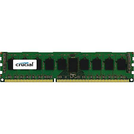 Crucial 8GB, 240-pin DIMM, DDR3 PC3-14900 memory module