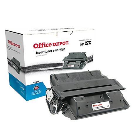 Office Depot® Brand 27X Remanufactured High-Yield Toner Cartridge Replacement For HP 27X Black
