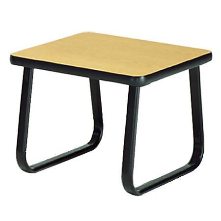 "OFM 20"" x 20"" End Table, Oak"