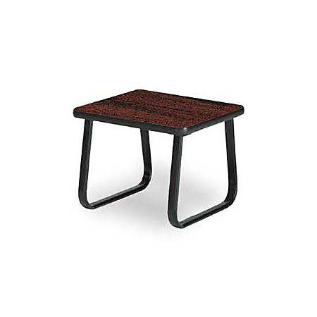 "OFM 20"" x 20"" End Table, Mahogany"