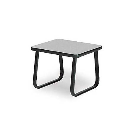 "OFM 20"" x 20"" End Table, Gray"