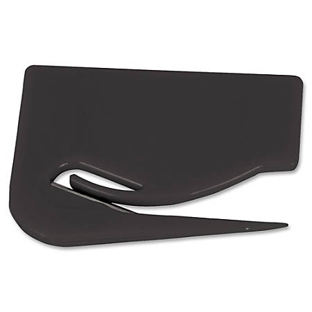 Sparco Clean Slit Letter Opener - Manual - Black