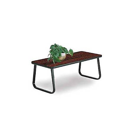 """OFM 20"""" x 40"""" Cocktail Table, Mahogany"""
