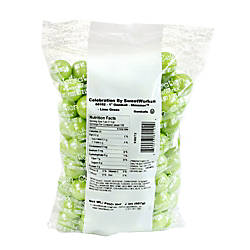 Sweetworks Gumballs 2 Lb Bag Lime