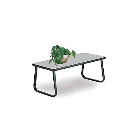 """OFM 20"""" x 40"""" Cocktail Table, Gray"""