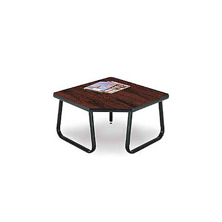 "OFM 30"" x 30"" Corner Table, Mahogany"