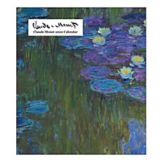 Retrospect Claude Monet Monthly Desk Calendar