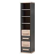 Baxton Studio Mert Storage Cabinet Dark