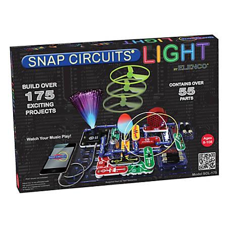 Elenco Electronics Snap Circuits LIGHT® Set