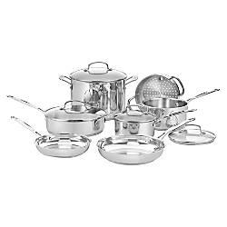 Cuisinart 11 Piece Chefs Classic Cookware