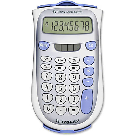 Texas Instruments® TI-1706SV Display Calculator