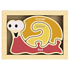 BeginAgain Toys Mini Color Snail Puzzle
