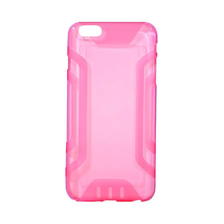 Wireless Gear Case For Apple® iPhone® 6, Clear, Pink