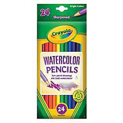 Crayola Watercolor Pencils Set Of 24