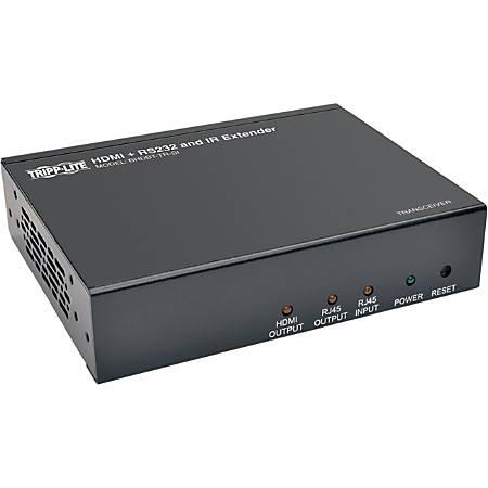 Tripp Lite HDBaseT HDMI Over Cat5e Cat6 Cat6a Extender Tranceiver, Serial and IR Control 4K x 2K 70m 230ft