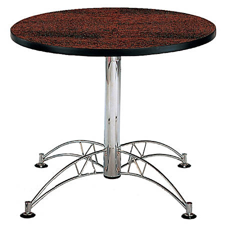 "OFM Multipurpose 36"" Round Table, Mahogany"