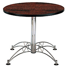 OFM Multipurpose 36 Round Table Mahogany