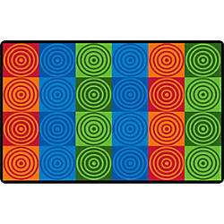Flagship Carpets Bulls Eye Block Rectangle