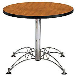 OFM Multipurpose 36 Round Table Cherry