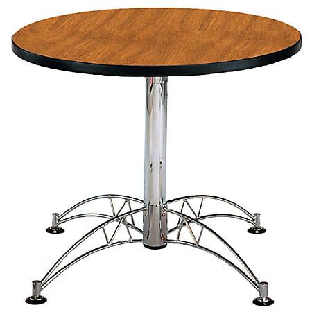 "OFM Multipurpose 36"" Round Table, Cherry"