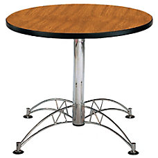 OFM Multipurpose 36 Round Table Cherry