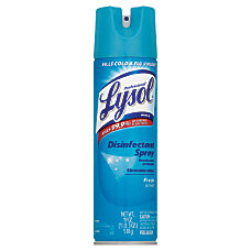Lysol Professional Disinfectant Spray Fresh Scent
