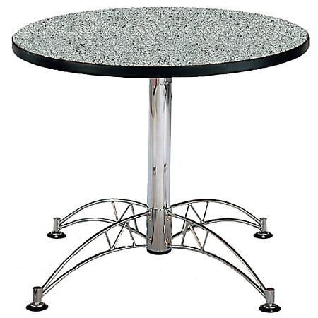 """OFM Multipurpose 36"""" Round Table, Gray Nebula"""