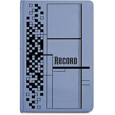 Adams 500 page Blue Cloth Hardbound