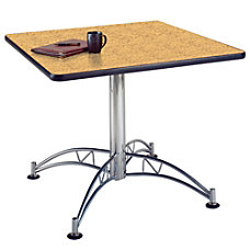 OFM Multipurpose 36 Square Table Oak