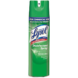 Lysol Disinfectant Spray Country Scent 19