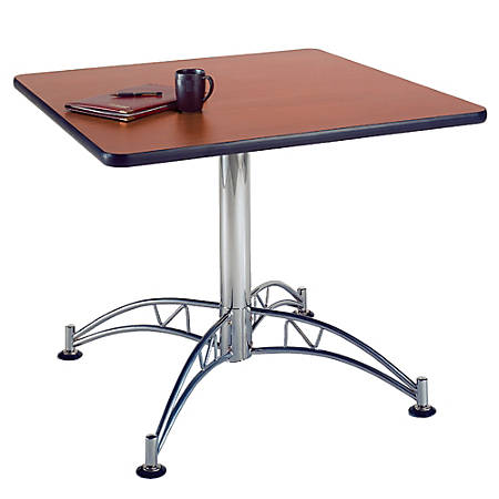 "OFM Multipurpose 36"" Square Table, Mahogany"