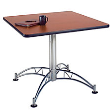 OFM Multipurpose 36 Square Table Mahogany