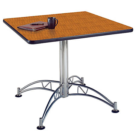 "OFM Multipurpose 36"" Square Table, Cherry"