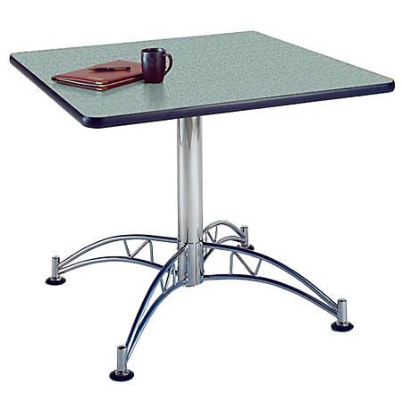 """OFM Multipurpose 36"""" Square Table, Gray Nebula"""