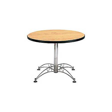 "OFM Multipurpose 42"" Round Table, Oak"